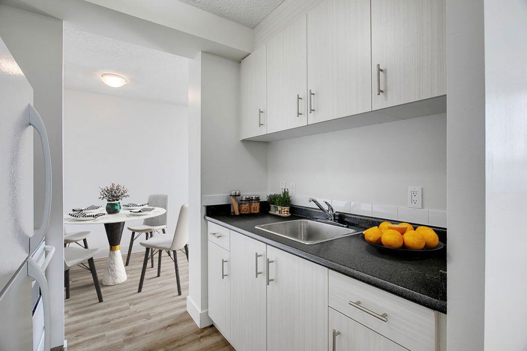 Kitchen at Westview Heights Apartments - Calgary AB